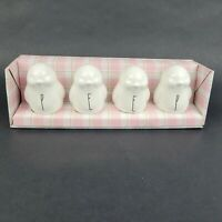 New Rae Dunn Set Of 4 PEEP Chicks Artisan Collection By Magenta