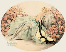 La Belle Rose by Louis Icart (: Art Print of Vintage Art :)