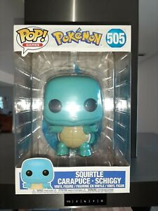 Pokémon Figurine Pop 505 Squirtle Supersized neuve grand format édition limitée