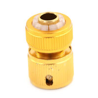 Aluminum Hose Tube Fitting Adapter Garden Home Water Pipe Tap Quick Connector 0c