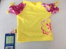 Banz Kids' Sun Blossom Rash Shirt - Yellow/pink 00
