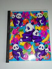 Vintage 1990 Lisa Frank Panda with Fruit Composition Lined Notebook Paper