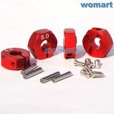 4 Stück 1/10 5mm-12mm Metall Aluminium Hex Radnaben Länge für Tamiya HPI Buggy