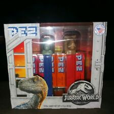 PEZ Spender Jurassic World Blue the Raptor & T- Rex Geschenk Pack