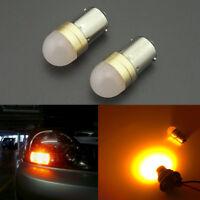 2pcs Amber 1156 7506 1156A Turn Signal Lights LED Bulbs Car Truck P21W BA15S S25