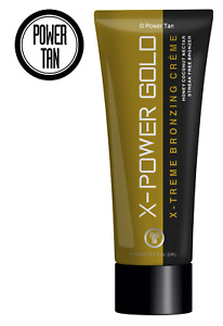 Power Tan X-Power Gold Bronzer Tanning Sunbed Lotion Cream Accelerator 250ml
