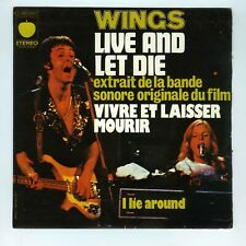 45 RPM SP OST LIVE AND LET DIE/  PAUL McCARTNEY & WINGS