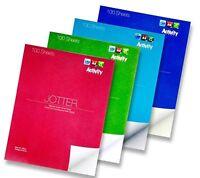Silvine Bumper Value Plain Jotter Pad 100 sheets 229x178mm