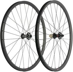650B 27.5ER MTB Carbon Wheelset 30mm Width Tubeless Mountain Bike Wheelset UD