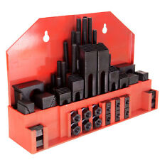 """HFS(R) 58 Pc 1/2"""" Slot 3/8""""-16 Stud Hold Down Clamp Clamping Set Bridgeport Mill"""