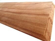 6 x FURNIER KERN-BUCHE 1,0mm! STARKFURNIER Holz Brett Schiff Bootsbau Küche DIY