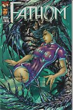 Top Cow Image Michael Turner's Fathom 10 January 2000  First Printing (Comic)