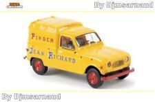 4 L Renault fourgonnette de 1961 Pinder Service Publicité BREKINA 3913 Ech 1/87