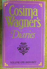 Cosima Wagner's Diaries: 1869 to 1877 by Cosima Wagner (Hardback, 1978)