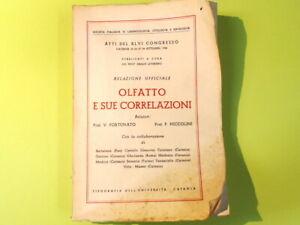 OLFATTO E SUE CORRELAZIONI FORTUNATO NICCOLINI TIPOGRAFIA UNIVERSITA' DI CATANIA