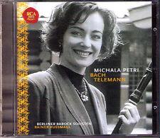 Michala PETRI: BACH TELEMANN Suite CD Berliner Barock Solisten Rainer KUSSMAUL