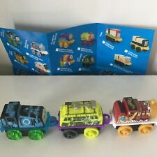 THOMAS & FRIENDS 2019/4 MINIS X-RAY GATOR-KING JAMES-SPOOKY DIESEL 10-TRAIN LOT