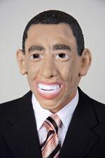 Faschingsmaske Barack Obama Fasching Maske Politiker Karneval