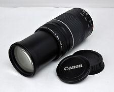 Canon EF 75-300mm f/4-5.6 III Zoom Lens for EOS Rebel T6i T5i T3i T1i XSi 60D