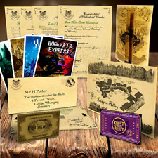Harry Potter Personalised Hogwarts Acceptance Letter Quality Maps More