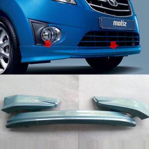 Front Lip Spoiler Bumper Blue GCT For 2010 2012 Chevy Spark Matiz