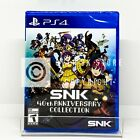 SNK 40th Anniversary Collection - PS4 - Brand New | Factory Sealed