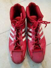 c46c19152013d Size 19 Adidas Pro Model Men s Basketball Shoes Red CLJ657001