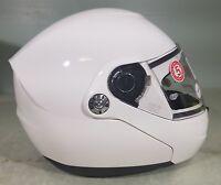 Nolan Helmet N91 Metal White Medium 398550