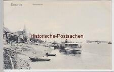 (110939) AK Emmerich, Rheinansicht 1906