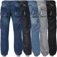 Homme enzo par eto ez 244 jeans fashion jeans standard regular fit-bleu foncé