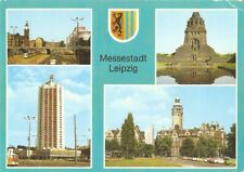 Postcard: Germany DDR - Messestadt Leipzig