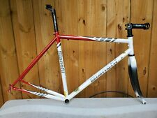 Bianchi Vigorelli 55cm Roadbike Frameset With Carbon Fork  Reynolds 631 Steel