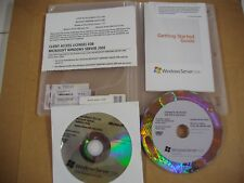 Microsoft Windows Server 2008 Standard 64 & 32 Bit DVD w/SP2 w/10 CAL=BRAND NEW=