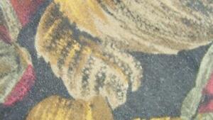 ELEMENTS FLORAL DECO BLACK BROWN TAN RAYON NECKTIE TIE MOC2719A #T06