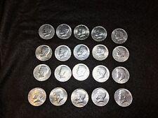 1976 Bicentennial Kennedy Half Dollar Clad Roll Lot of 20 Coins- EF+ to AU