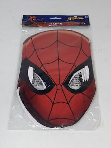 New Marvel Spider-man Hats/ Masks, 8 Count, Birthday mask Party Supplies