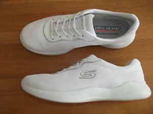 STUNNING SKECHERS ENVY AIR COOLED MEMORY FOAM FOOTBED TRAINERS 6.5 UK BNWOB!!