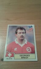 N°43 GEORGES BREGY # HELVETIA PANINI USA 94 WORLD CUP ORIGINAL 1994