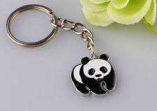 Panda Enamel Metal Keyring Keychain