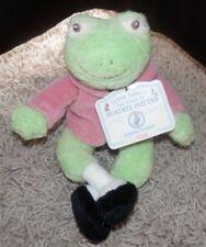 "BEATRIX POTTER Jeremy Fisher Frog VINTAGE 2003 Plush Stuffed Animal gund"""