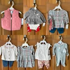 Lot of Carter's Newborn Girls Clothing: Outfits ~ Pants ~ Dress ~ Unicorn ~ Vest