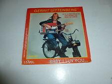 "GERRIT UITTENBERG - bABY i lUV YOU - Dutch 7"" 2-track Juke Box Single"