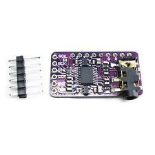PCM5102A DAC Sound Card pHAT 3.5mm Stereo Jack 24 Bits Digital Audio Module