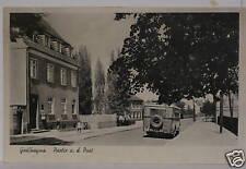 Braunsbedra,Großkayna,Partie a.d.Post,alter Bus,Omnibus