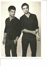 Robert Pattinson, Taylor Lautner, Full Page Pinup
