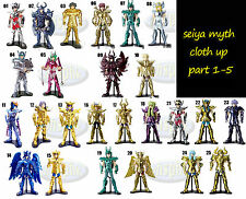 聖鬥士星矢冥鬥士聖衣神話japan bandai gashapon saint seiya myth cloth up part 1 - 5 full set