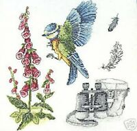 Bird Watching Cross Stitch Kit  Anchor Premier Collection
