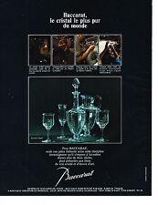 PUBLICITE  1975    BARRACAT   CRISTAL  service CAPRI