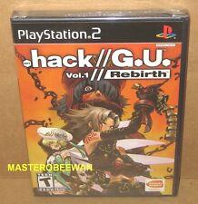 PS2 .hack//G.U.: Vol. 1: Rebirth New Sealed (Sony PlayStation 2, 2006)