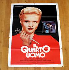 IL QUARTO UOMO manifesto poster affiche Jeroen Krabbe Thom Hoffman Verhoeven